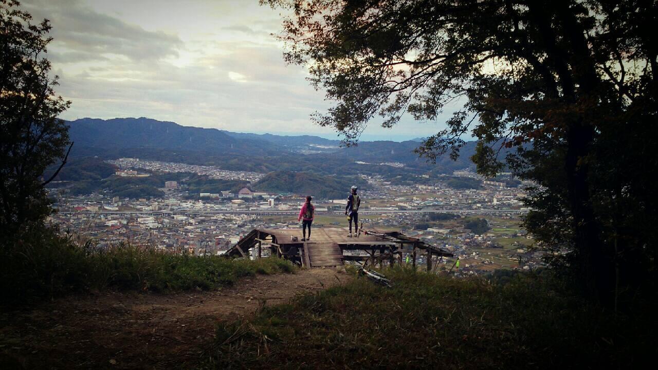 福山市 MTB 山サイクリング