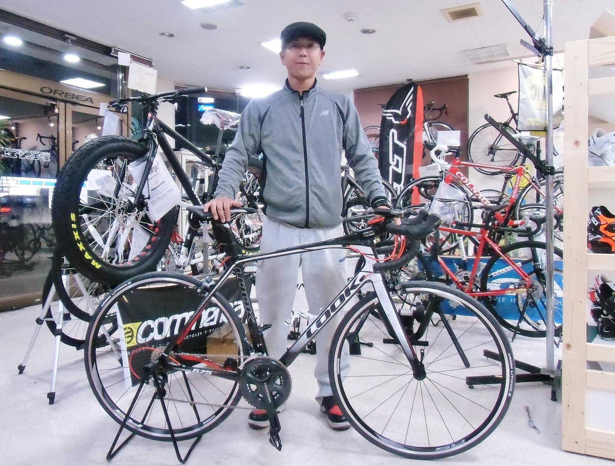 LOOK 675 LIGHT ルック ロードバイク ロングライド ヒルクライム レース 広島県福山市
