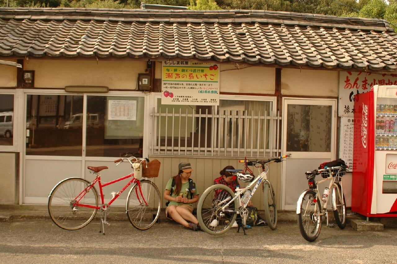 広島県尾道市 百島 瀬戸内海 海水浴 サイクリング 自転車 ロードバイク MTB マウンテンバイク クロスバイク 広島県福山市 FINE fine ファイン