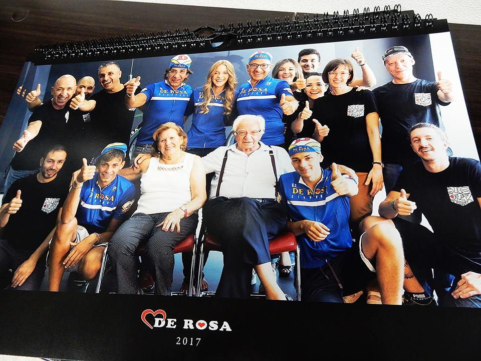 2017年 DE ROSA de rosa デローザ イタリアメーカー カレンダー プレゼント 広島県福山市 FINE fine ファイン