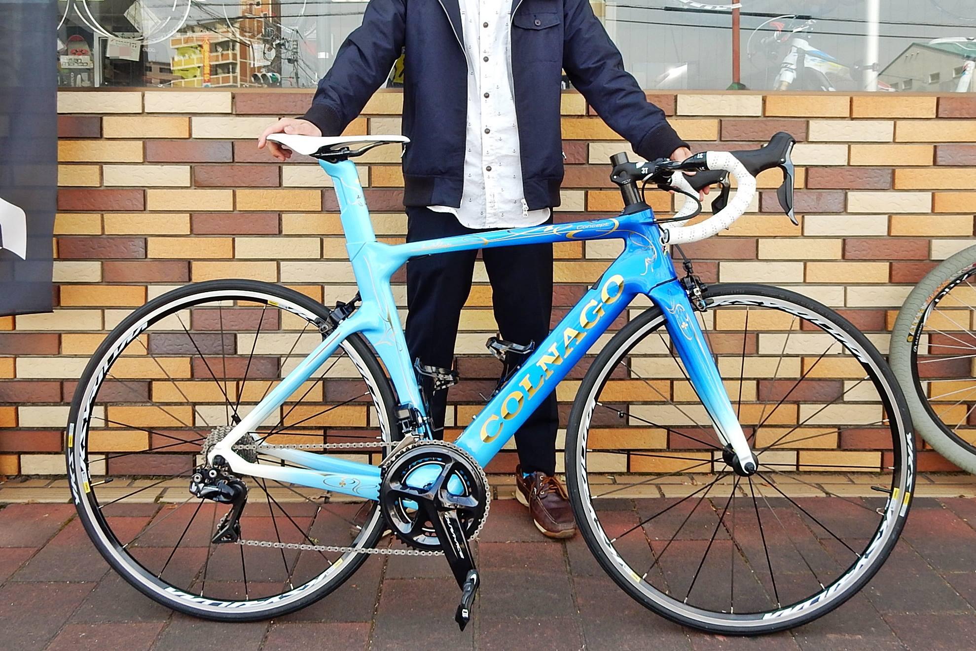 2017年 COLNAGO colnago コルナゴ CONCEPT concept コンセプト イタリアメーカー エアロロードバイク カーボン レース 広島県福山市 FINE fine ファイン