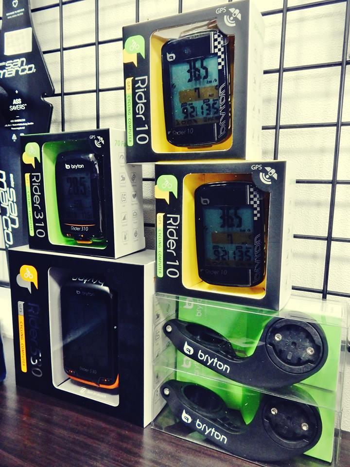 BRYTON bryton ブライトン サイクルコンピュータ サイコン GPS Bluetooth ブルートゥース ナビゲーション 広島県福山市 FINE fine ファイン