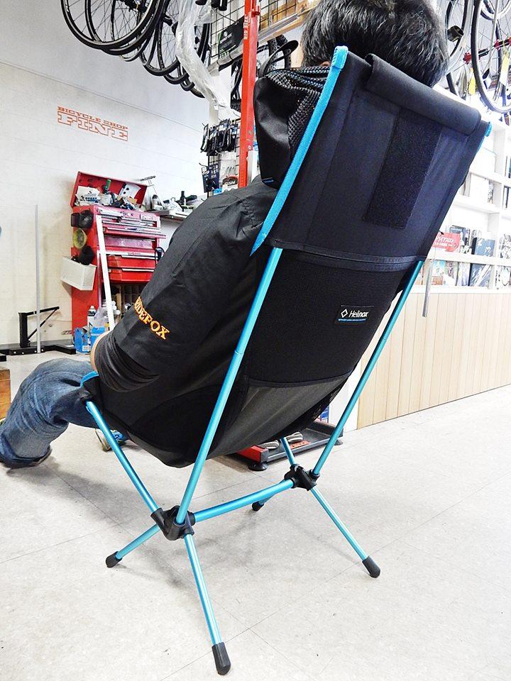 Helinox ヘリノックス チェア 椅子 アウトドア キャンプ スポーツバイク 広島県福山市 FINE fine ファイン