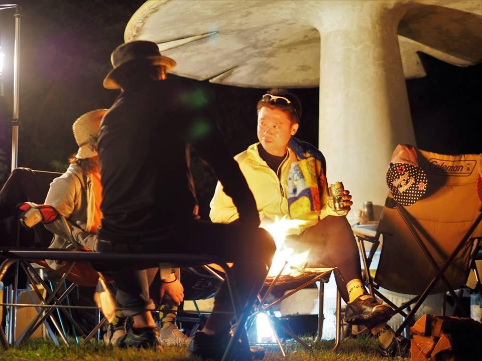 MTBライド+BBQ+キャンプ+燻製大会 mtb マウンテンバイク イベント トレイルライド 広島県福山市 FINE fine ファイン