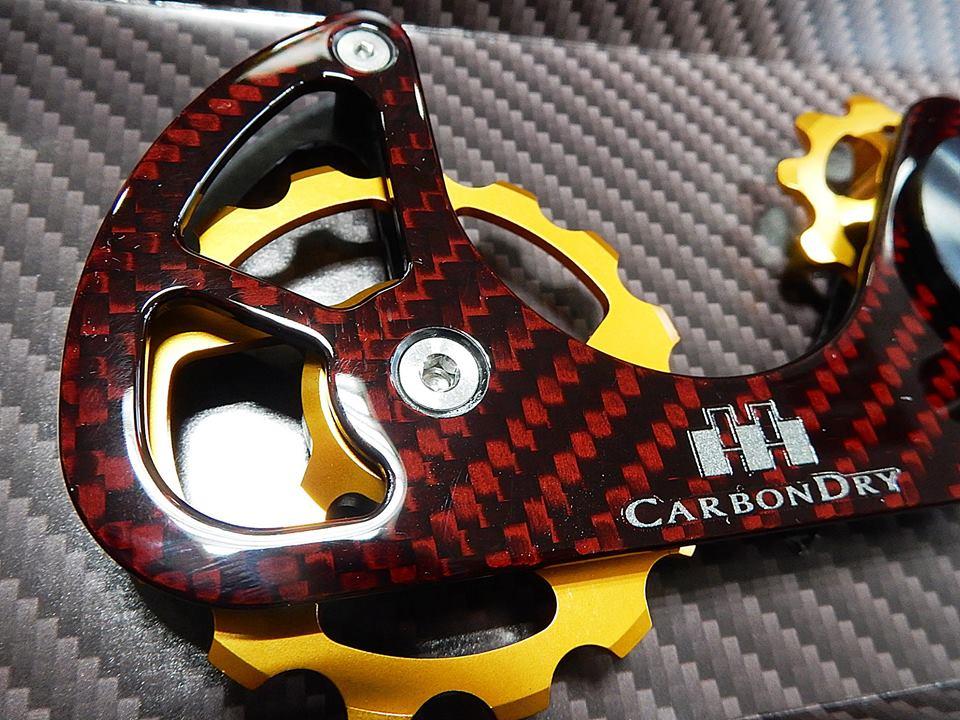 carbon dry japan CDJ cdj カーボンドライジャパン ビッグプーリーキット セラミック ベアリング V2 広島県福山市 FINE fine ファイン